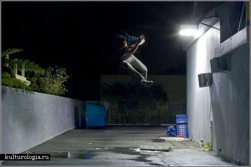 Попытки летать в фотопроекте Конана Тая