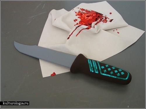 Ножи, аварии и кровь… сшитые из ткани