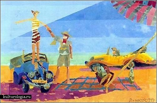 Картины слепого художника