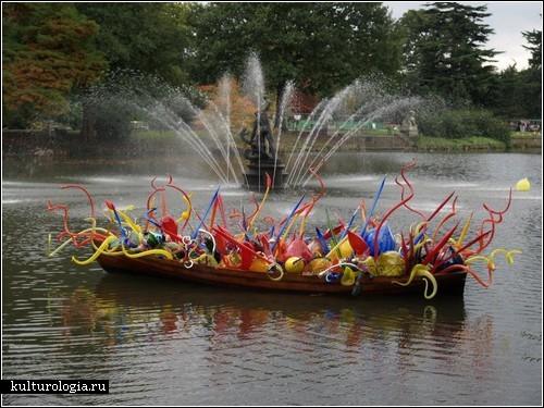 Стеклянные скульптуры Дейла Чихули