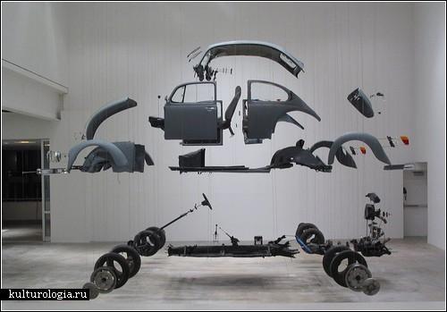 «Разобранные» скульптуры Дэмиана Ортеги