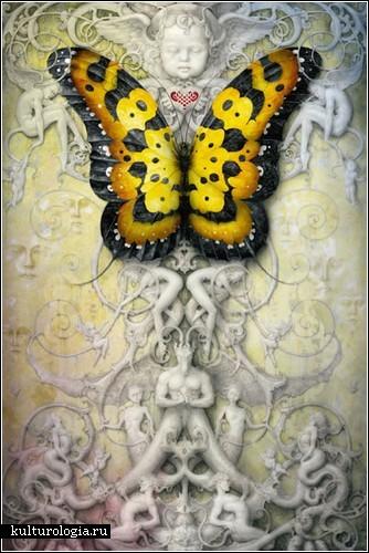 Сюрреалистическая живопись Дэниела Мерриама