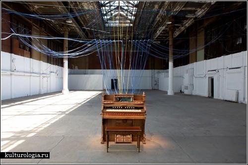 <br>Дом как огромный музыкальный инструмент. Эксперименты Дэвида Бирна