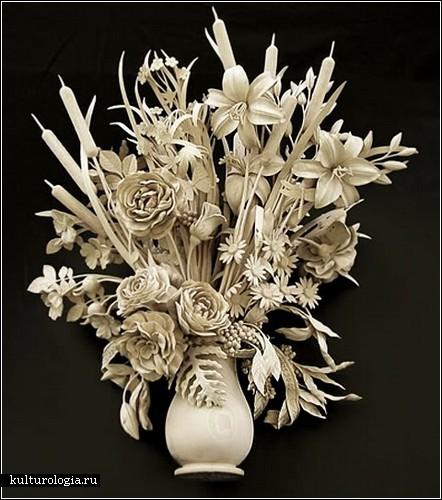 Искусство резьбы по дереву от Дэвида Эстерли