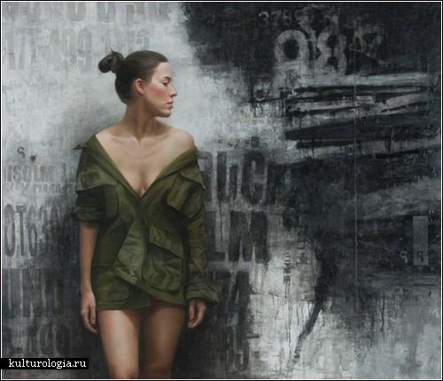 Реалистичные уличные рисунки Дэвида Джона Кассана
