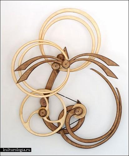 Кинетические скульптуры Дэвида Роя