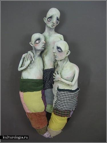Печальные скульптуры Дерека Вайсберга