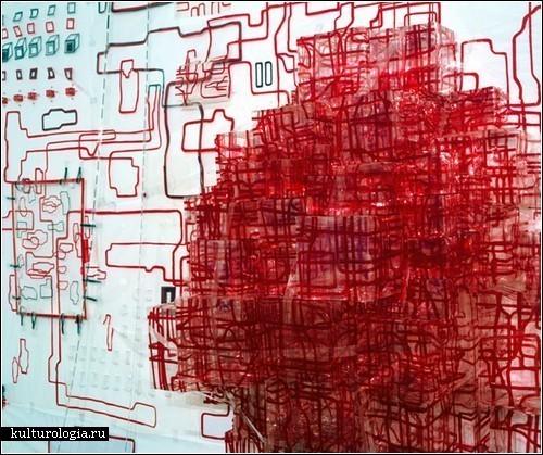 Схемы-инсталляции Дианы Купер