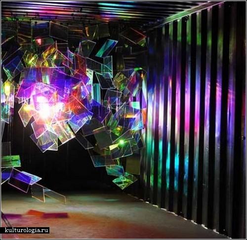 Инсталляция «Diffraction» от Этьена Рея