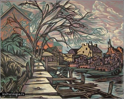 Море, гавани, дома: репродукционная ксилография Дона Горветта