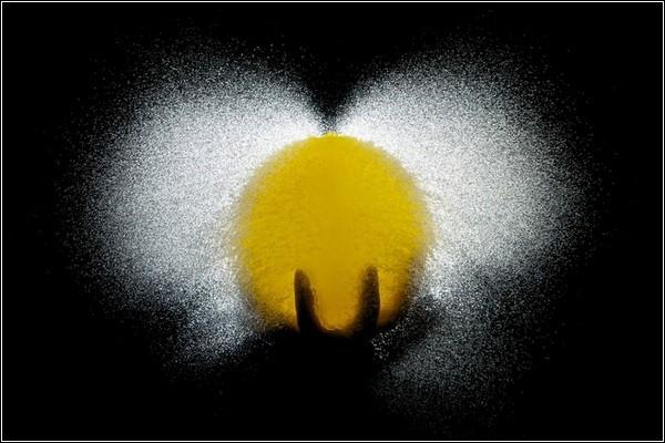 Фотографии лопающихся шариков с водой от Эдварда Хорсфорда