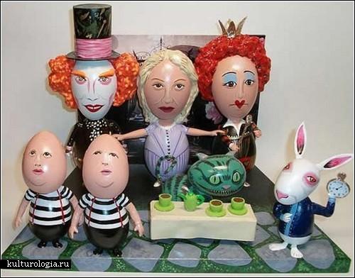Яйца-селебрити от John Lamouranne