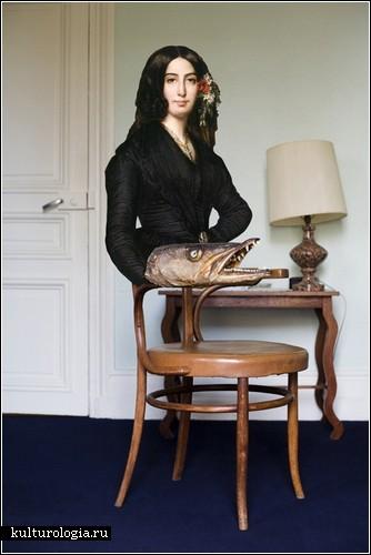 Женщина как часть интерьера глазами Elene Usdin