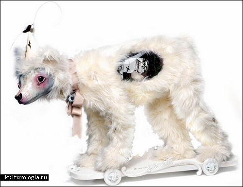 Странные скульптуры Элизабет Макгрет