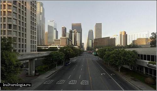 Пустой Лос-Анджелес: фотопроект от Matt Logue