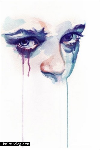 Глаза как зеркало души в акварелях Марион Болоньези