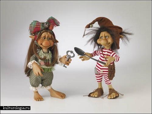 Куклы от Силке Янас-Шлессер