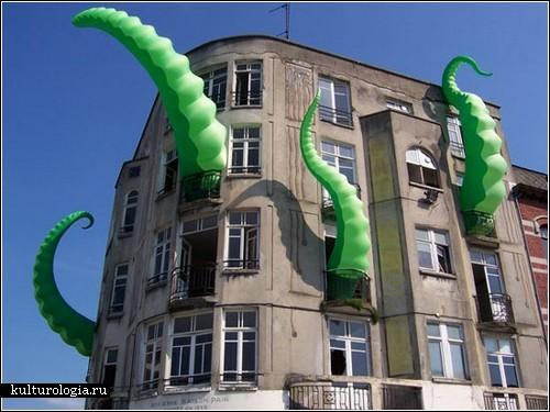 Городские инсталляции от FilthyLuker