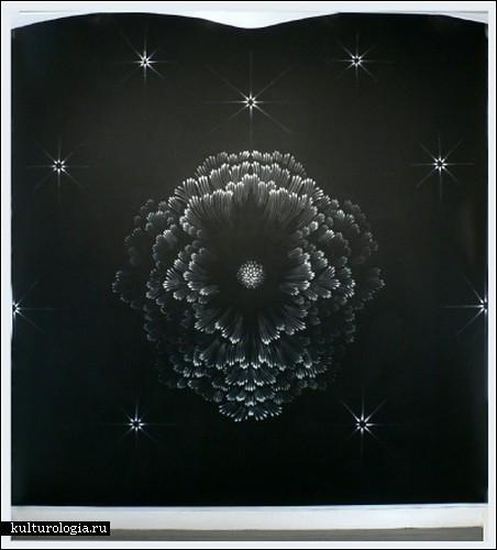 «Fingerings» от Джудит Энн Браун. Картины, написанные кончиками пальцев