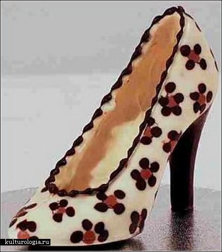 Шоколадная обувь от Фрэнсис Кули