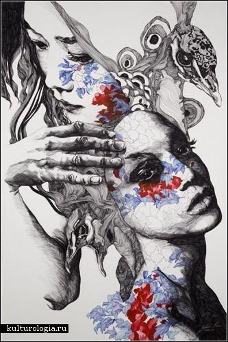 Иллюстрации Габриэля Морено