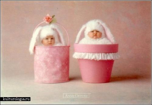 анны геддес фото детей