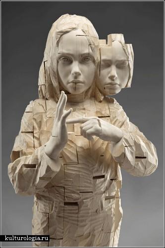 Деревянные скульптуры Джехарда Демеца