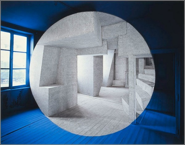 Комната в комнате, нарисованная Жоржем Русом