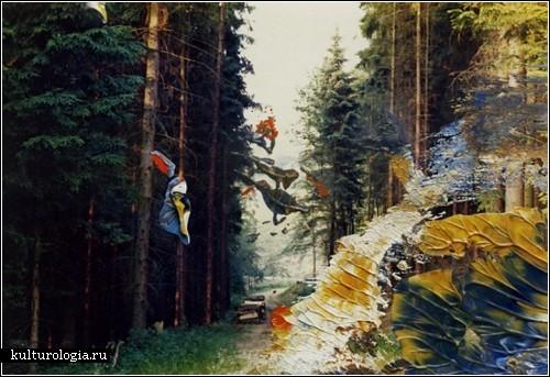 Живопись на фотографиях от Герхарда Рихтера