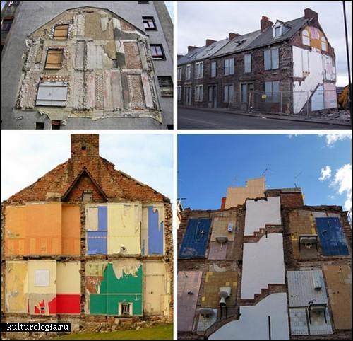 Дома-призраки: разрушенные здания или предметы искусства?