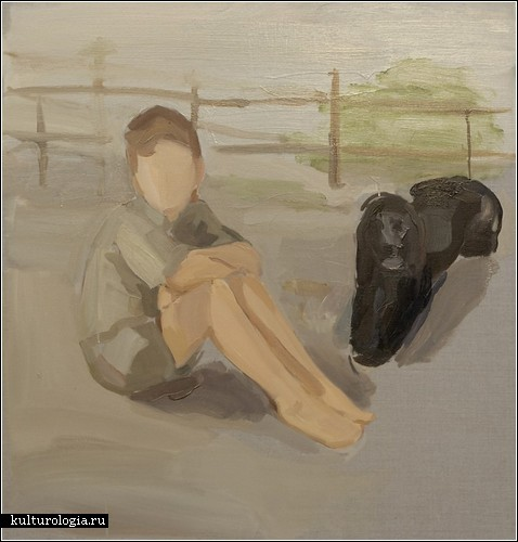 Без лица: картины Гидеона Рабина