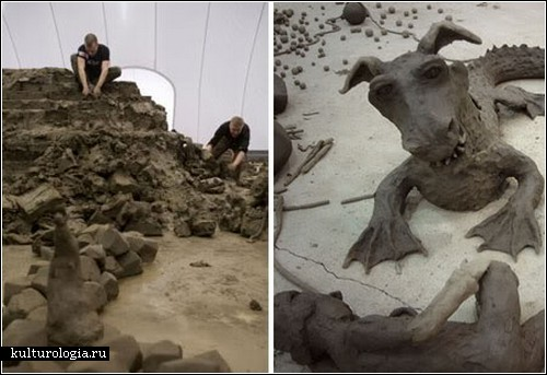 Коллективное искусство в проекте Энтони Гормли «Clay and the Collective Body»