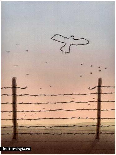 Gurbuz Dogan Eksioglu: карикатура с философским подтекстом