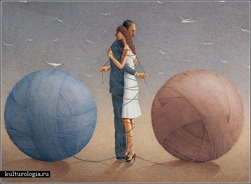Карикатуры с философским подтекстом