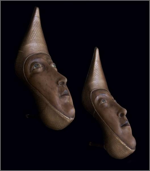 Гвен Мерфи может превратить в скульптуру любую пару обуви