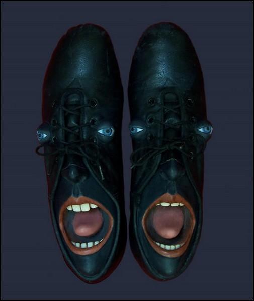Гвен Мерфи дарит старой обуви новые жизни и новые лица