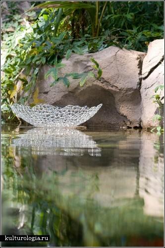 Стеклянные скульптуры Ганса Годо Фрабеля