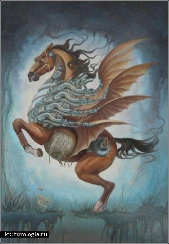 Сюрреалистическая живопись Heidi Taillefer