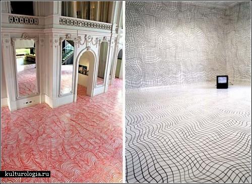 Разрисованные комнаты Хайке Вебер