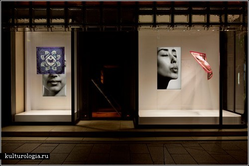 Инсталляция Tokujin Yoshioka  для Hermes