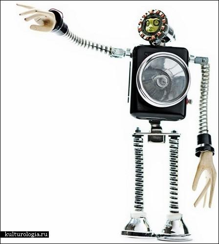 Скульптуры-роботы Андреа Петрачи