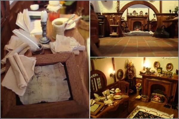 Домик хоббита, «построенный» Мэдди Чемберз