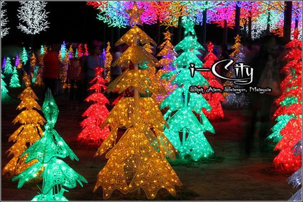 i-City - город светодиодных огней