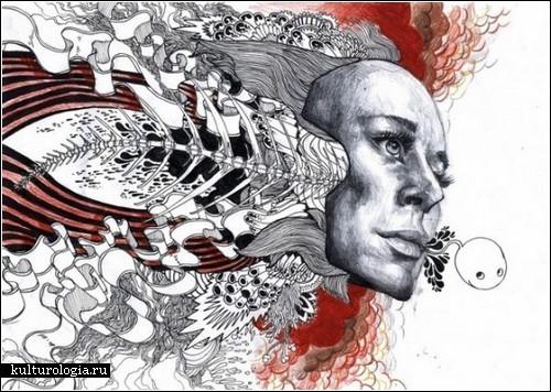 Взрывающиеся эмоциями иллюстрации Йена Макартура