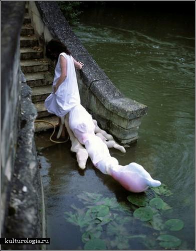 Живые скульптуры Янины Чапе