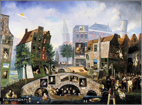 Абсурдная реальность Жана Томассена. 28 x Rembrandt