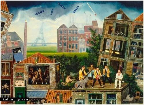Абсурдная реальность Жана Томассена. April in Paris