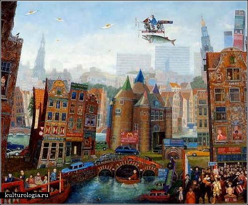 Абсурдная реальность Жана Томассена. De Nieuwmarkt te Amsterdam