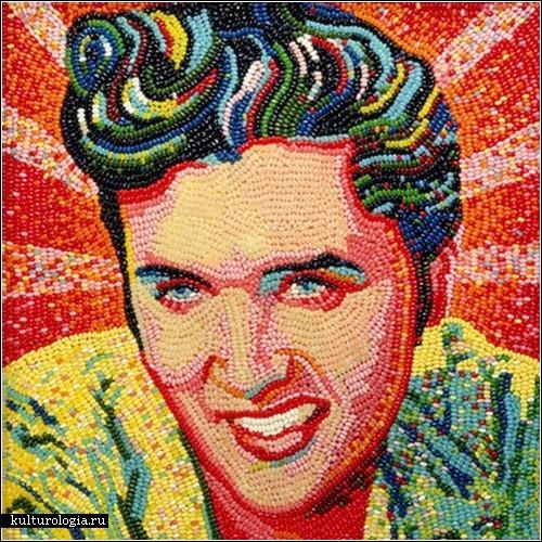Мармеладная мозаика от Питера Роча