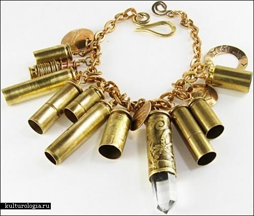 Убийственная красота: украшения из гильз от Вирджинии Вивьер
